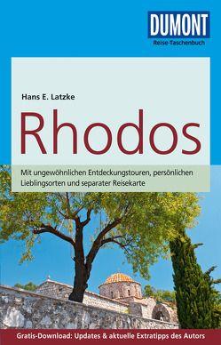 DuMont Reise-Taschenbuch Reiseführer Rhodos von Latzke,  Hans E.