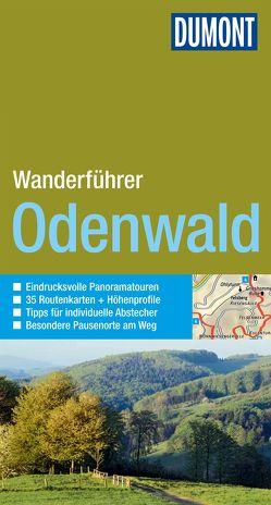 DuMont Wanderführer Odenwald von Stieglitz,  Andreas