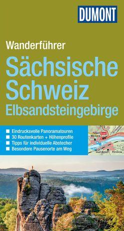DuMont Wanderführer Sächsische Schweiz von Brichzin,  Hans