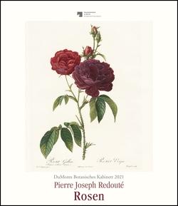 DuMonts Botanisches Kabinett – Rosen von P.J. Redouté – Kunstkalender 2021 – Wandkalender im Hochformat 34,5 x 40 cm von Redouté,  Pierre-Joseph