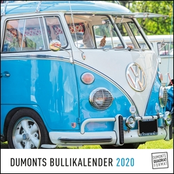 DUMONTS Bulli-Kalender 2020 – VW-Bus, Oldtimer, Retro – 24 x 24 cm im Quadratformat von DUMONT Kalenderverlag