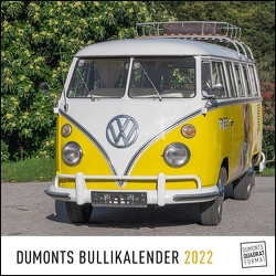 DUMONTS Bulli-Kalender 2022 – VW-Bus, Oldtimer, Retro – 24 x 24 cm im Quadratformat