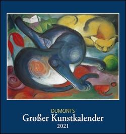 DUMONTS Großer Kunstkalender 2021 ‒ Klassische Moderne, Impressionisten, Expressionisten ‒ Wandkalender Format 45 x 48 cm