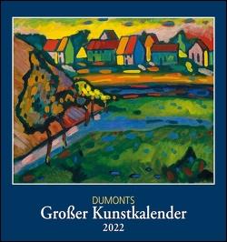 DUMONTS Großer Kunstkalender 2022 ‒ Klassische Moderne, Impressionisten, Expressionisten ‒ Wandkalender Format 45 x 48 cm
