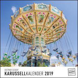 DuMonts Karussellkalender 2019 – Wandkalender – Quadratformat 24 x 24 cm von DUMONT Kalenderverlag, Scherf,  Dietmar