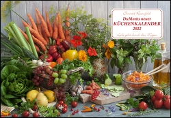 DUMONTS neuer Küchenkalender 2022 – Broschürenkalender – mit Rezepten und Gedichten – Format 42 x 29 cm von Rosenfeld,  Christel, Schikorsky,  Isa