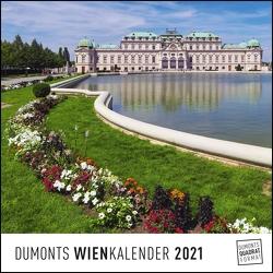 DUMONTS Wienkalender Vienna 2021 – Wandkalender – Quadratformat 24 x 24 cm