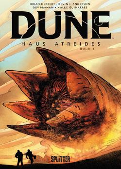 Dune: Haus Atreides (Graphic Novel). Band 1 (limitierte Vorzugsausgabe) von Anderson,  Kevin J., Giumares,  Alex, Herbert,  Brian, Pramanik,  Dev
