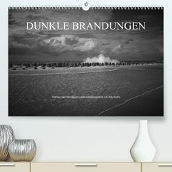 Dunkle Brandungen – Nordsee und Mittelmeer Landschaftsfotografien von Niko Korte (Premium, hochwertiger DIN A2 Wandkalender 2021, Kunstdruck in Hochglanz) von Korte,  Niko