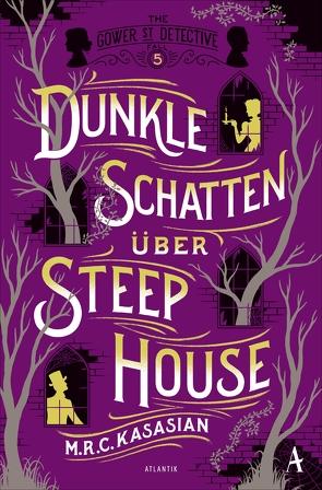 Dunkle Schatten über Steep House von Kasasian,  M.R.C., Sabinski,  Johannes, Weber,  Alexander