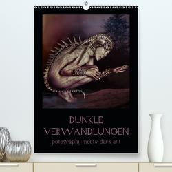 Dunkle Verwandlungen – photography meets dark art (Premium, hochwertiger DIN A2 Wandkalender 2021, Kunstdruck in Hochglanz) von Art,  Ravienne