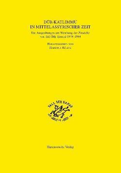 Dur-Katlimmu in mittelassyrischer Zeit von Kühne,  Hartmut