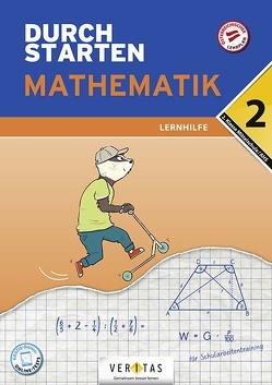 Durchstarten Mathematik 2. Klasse Mittelschule/AHS Lernhilfe von Olf,  Markus