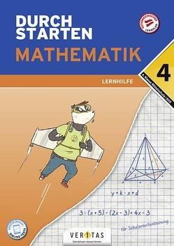 Durchstarten Mathematik 4. Klasse Mittelschule/AHS Lernhilfe von Olf,  Markus