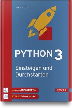 Durchstarten mit Python 3 von Kalista,  Heiko
