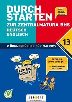 Durchstarten zur Zentralmatura 2019. SET BHS: Deutsch, Englisch von Bergmann,  Emii, Hofer,  Jutta, Zach,  Franz