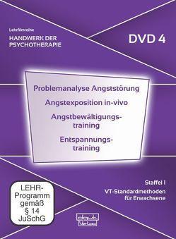 Problemanalyse Angststörung · Angstexposition in-vivo · Angstbewältigungstraining · Entspannungstraining (DVD 4) von Fliegel,  Steffen