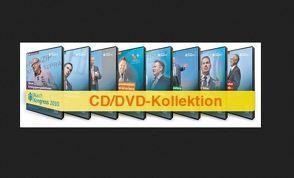 """DVD/CD-Set """"Rusch-Kongress 2010""""  Folgende DVDs sind in der Box enthalten: – 'Erfolg Erfolg Erfolg!' von und mit Christian R. Hanisch – 'Mit Kompetenz und Leidenschaft zum Erfolg!' von und mit Reiner 'Calli' Calmund – 'Erfolgreicher verhandeln – Es geht um IHR Leben!' von und mit Gerhard A. Jantzen – 'Woran wir böse Jungs und liebe Mädchen erkennen' von und mit Marc Thurner – 'Verkaufserfolge durch Direktkontakte' von und mit Markus Reinke – 'Die 7 Lebensprinzipien zu Glück und Erfolg!' von und mit Irene und Thomas Frei – 'Führungsmotivation: Das Leben ist zu kurz für unmotivierte Mitarbeiter' von und mit Duschi B. Duschletta – 'Neue Erfolgsperspektiven mit dem LOL²A-Prinzip' von und mit René Egli"""