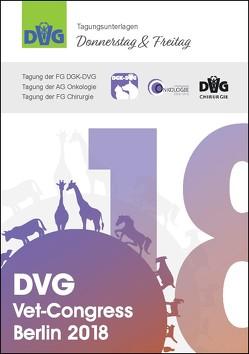 DVG Vet-Congress Berlin 2018 Tagungsunterlagen Donnerstag & Freitag