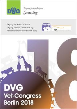 DVG Vet-Congress Berlin 2018 Tagungsunterlagen Samstag