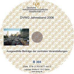 DVWG Jahresband 2006 von Bauermeister,  Ulrich, Blobel,  Sven, Dannemann,  Günter, Förster,  Georg, Klodt,  Henning, Küpper,  Wolfgang, Stuchtey,  Rolf W