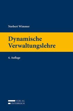 Dynamische Verwaltungslehre von Wimmer,  Norbert