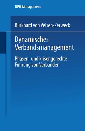 Dynamisches Verbandsmanagement von von Velsen-Zerweck,  Burkhard
