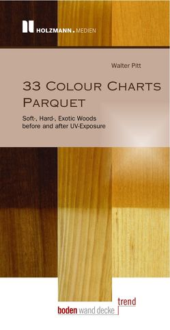 "E-Book ""33 Colour Charts Parquet"" von Pitt,  Walter"