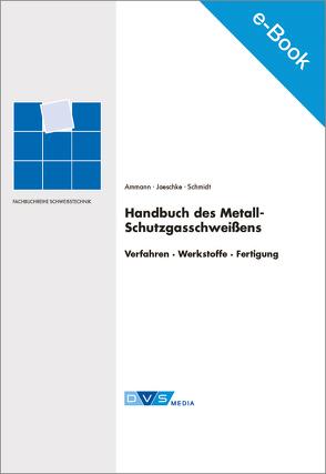 E-Book Handbuch des Metall-Schutzgasschweißens