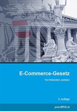 E-Commerce-Gesetz von proLIBRIS VerlagsgesmbH