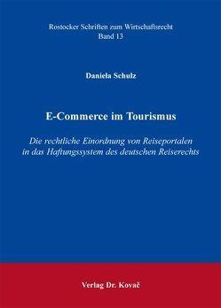 E-Commerce im Tourismus von Schulz,  Daniela