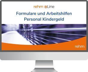Formulare und Arbeitshilfen Personal Kindergeld von Hess,  Reiner
