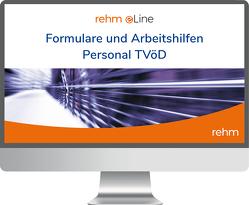 Formulare und Arbeitshilfen Personal TVöD online von Junt,  Andreas, Klebau,  Marie, Pahmeyer,  Carola, Rothbrust,  Manfred
