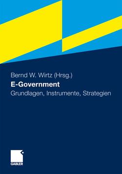 E-Government von Wirtz,  Bernd W.
