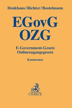 E-Government-Gesetz/Onlinezugangsgesetz von Bostelmann,  Lars, Denkhaus,  Wolfgang, Richter,  Eike