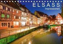 E L S A S S Impressionen (Tischkalender 2019 DIN A5 quer) von Dieterich,  Werner
