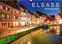 E L S A S S Impressionen (Wandkalender 2019 DIN A2 quer) von Dieterich,  Werner