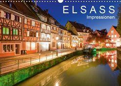 E L S A S S Impressionen (Wandkalender 2019 DIN A3 quer) von Dieterich,  Werner