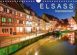 E L S A S S Impressionen (Wandkalender 2019 DIN A4 quer) von Dieterich,  Werner