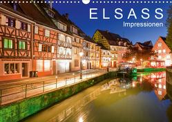 E L S A S S Impressionen (Wandkalender 2021 DIN A3 quer) von Dieterich,  Werner