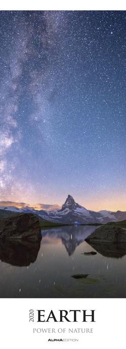 Earth – Power of Nature 2020 – Streifenkalender XXL (25 x 69) – Landschaftskalender – Naturkalender – Bildkalender – Wandkalender von ALPHA EDITION