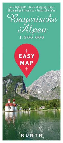 EASY MAP Bayerische Alpen