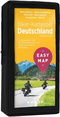 EASY MAP Biker-Kartenset Deutschland
