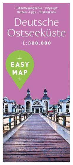EASY MAP Deutsche Ostseeküste