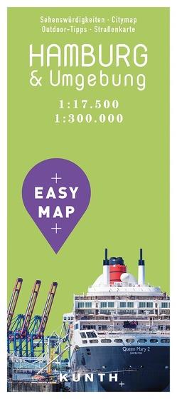 EASY MAP Hamburg & Umgebung