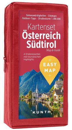 EASY MAP Kartenset Österreich
