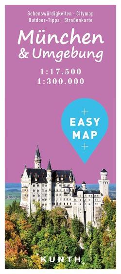EASY MAP München & Umgebung