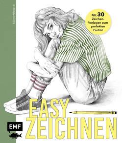 Easy zeichnen – Mit 20 Vorlagen zum perfekten Porträt von Pollerspöck,  Susanne