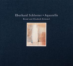 Eberhard Schlotter. Aquarelle von Krimmel,  Bernd, Krimmel,  Elisabeth