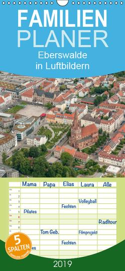 Eberswalde in Luftbildern – Familienplaner hoch (Wandkalender 2019 , 21 cm x 45 cm, hoch) von Roletschek,  Ralf